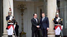 Hollande tente un «come back» en critiquant Macron
