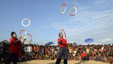 Des clowns pour les enfants rohingyas
