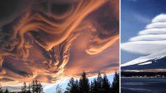 Arrêtez-vous et regardez le ciel, ces belles formes de nuages sont à couper le souffle!