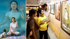 «L'art de Vérité-Compassion-Tolérance» voyage à travers l'Inde pour propager un message d'espoir et de triomphe