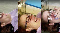 Un dentiste répare gratuitement les dents d'une victime de violence conjugale, sa réaction est incroyable