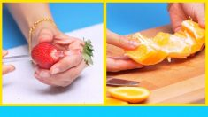 6 techniques fantastiques pour éplucher des fruits rapidement
