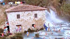 Envie d'un massage relaxant au milieu des sources chaudes naturelles de Toscane?