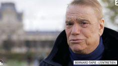 Bernard Tapie évoque son cancer sur France 2 : «Pour moi, ce n'est pas une catastrophe.»