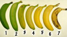 Aimez-vous vos bananes mûres ? La réponse peut avoir un effet sur votre santé