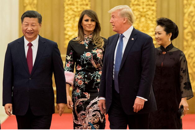 Donald Trump et Xi Jinping: deux rencontres au palais, une affaire inachevée