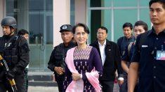 Rohingyas: première visite de Suu Kyi dans la zone du conflit