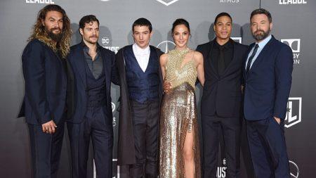 Les super-héros de «Justice League» en tête du box-office