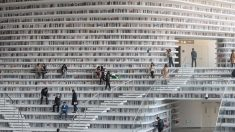 Bibliothèque futuriste en Chine :