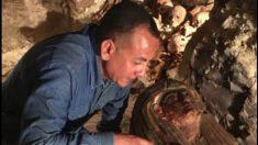 Regardez lesimages incroyables de la dernière découverte d'une tombe égyptienne vieille de 3500ans