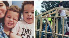 Mère célibataire presque sans-abri – elle se construit une maison elle-même