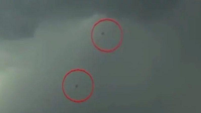 Deux OVNIS ont été aperçusdans une émission en direct aux États-Unis (vidéos)