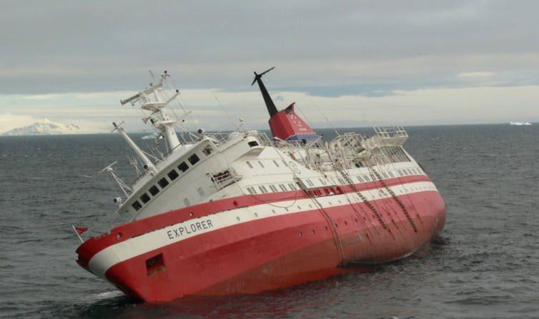 Navigation arctique: quels risques pour les navires croisiéristes?