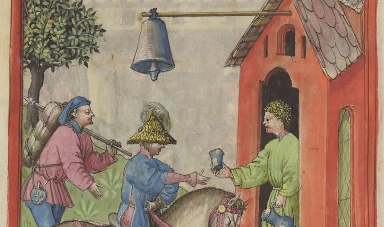 Le Moyen Âge a‑t‑il inventé la publicité?