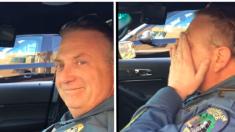 Un policier prenant sa retraite envoie son «Code 3» final à la radio, mais ce qu'il entend après le bouleverse