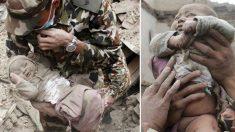 Vous souvenez-vous du bébé qui a été coincé pendant 22 heures sous les décombres du tremblement de terre au Népal en 2015? Comment va-t-il maintenant?