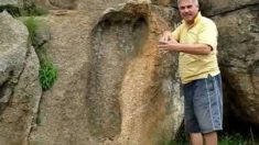 Une empreinte d'un pied géant de 3,1 milliards d'années en Afrique du Sud. Un témoignage inédit de notre histoire ?