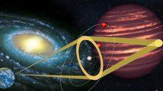 Une gigantesque planète extraterrestre trouvée à 22 000 années-lumière de la Terre, faisant 13 fois la taille de Jupiter