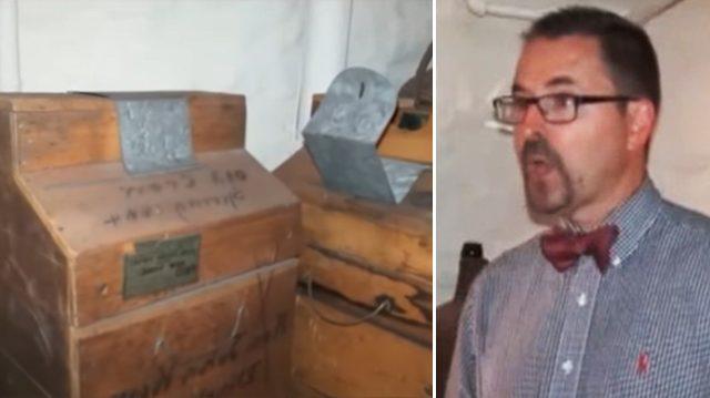 Les rénovateurs du musée de NJ découvrent une pièce cachée derrière un faux mur – ce qu'il y a à l'intérieur est «incroyable»