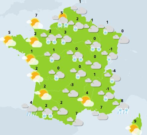 Neige : les Bouches-du-Rhône passent en vigilance orange