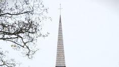 Une Chapelle à Monconseil, près de Tours, en forme de bateau renversé
