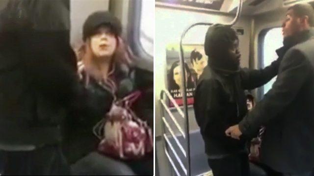 L'homme frappe une dame qui lui a demandé de lui laisser plus de place – mais un inconnu est venu et a attrapé sa main