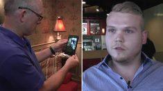 Ce type a été 'époustouflé' en voyant une vidéo virale de lui-même, mais voici pourquoi c'est si populaire