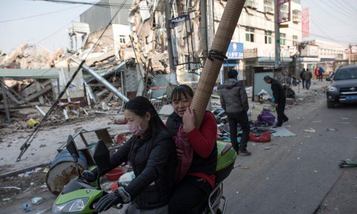 L'expulsion de la «classe inférieure» à Pékin s'étend à d'autres villes chinoises