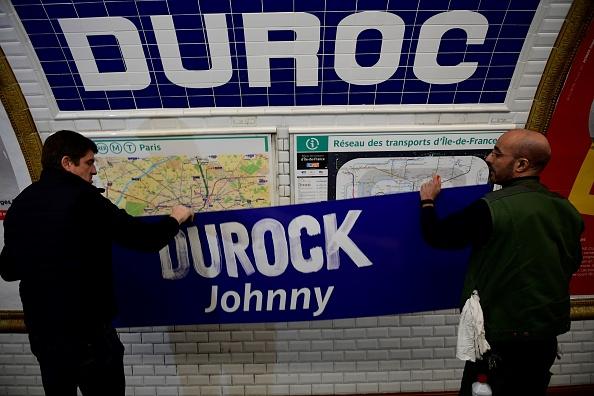 La station Duroc rebaptisée Durock Johnny pour la journée