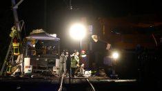 Quatre enfants tués, 20 blessés, dans la collision entre le car scolaire et le train à Millas