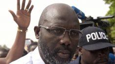 L'étoile africaine du foot George Weah devient président du Liberia