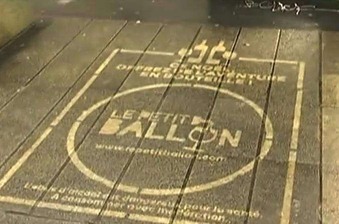 Publicité sur les trottoirs: Nantes n'en veut pas, Bordeaux renâcle