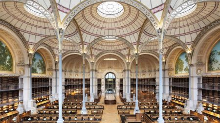 La Bibliothèque Nationale Richelieu un écrin entièrement rénové