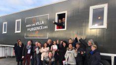 À Nantes, une association transforme de vieux camions frigorifiques en logements pour les sans-abri!