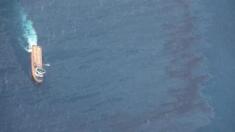 Mer de Chine : la marée noire a triplé de taille en 4 jours