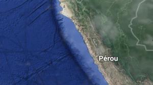 Séisme: deux morts et 65 blessés dans un séisme de magnitude 7,3 au Pérou