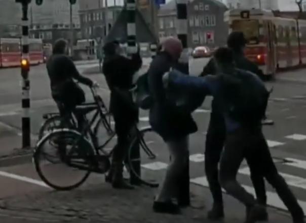 Dégâts aux Pays-Bas, en Belgique et en Allemagne — Tempête David