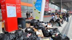La Chine interdit les importations de déchets étrangers mais fait face au problème de ses propres déchets