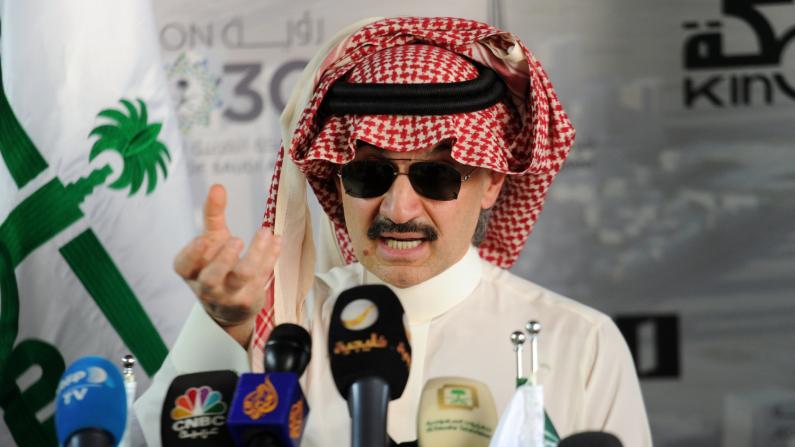 Al-Walid ben Talal, l'homme le plus riche d'Arabie Saoudite et proche de Barack Obama, finit en prison