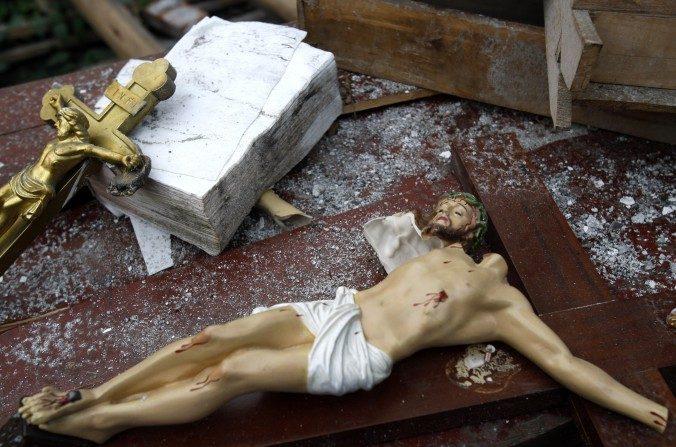 Chine: les autorités démolissent une église monumentale