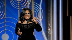 Golden Globes: la salle debout suite au discours vibrant d'Oprah Winfrey