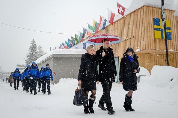 Davos: 82% des richesses planétaires pour 1% des plus riches