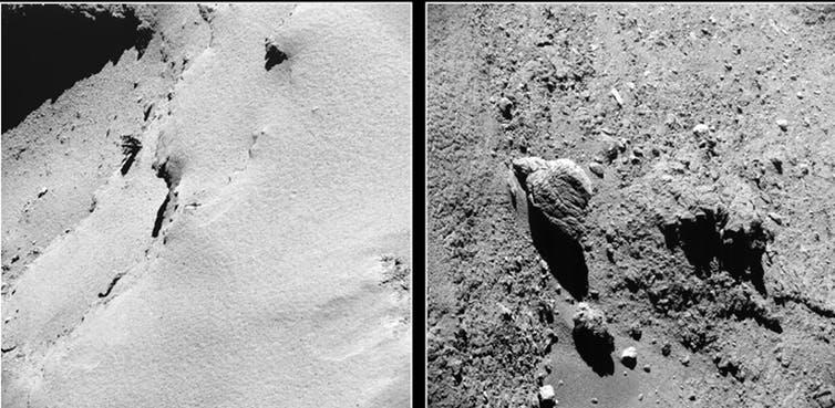 Les poussières de la comète Tchouri permettent de remonter l'histoire du Système solaire