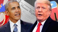 Obama versus Trump : droits de l'homme et politique étrangère
