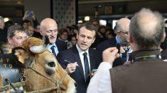 Emmanuel Macron sifflé au Salon de l'Agriculture