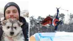 JO 2018 : Un skieur américain adopte un chien pour le sauver de l'abattoir