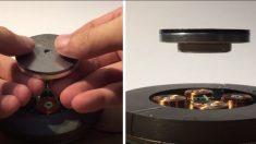 Cette machine peut faire flotter des objets dans les airs et ce n'est pas une illusion – le résultat est étonnant