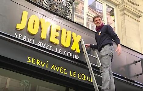 Handicap caf joyeux une enseigne de restauration - Commi de cuisine paris ...