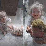 Maman laisse son enfant seule pour un instant – c'était une grosse erreur