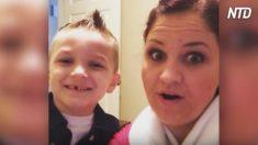 Une famille tombe amoureuse de leur enfant recueilli - après 18 mois, la mère entre et dit 3 mots